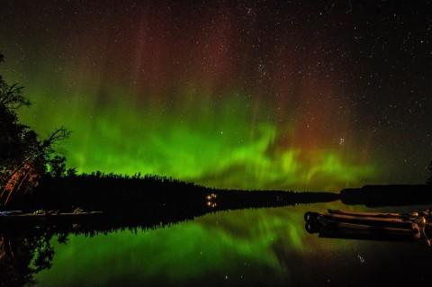 clearwater aurora borealis minnesota
