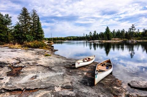 clearwater lake canoe trip