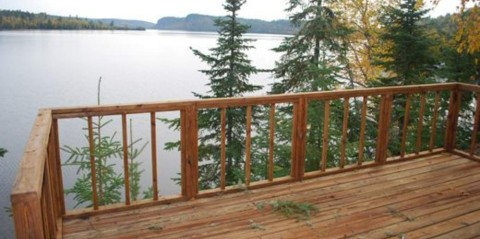 clearwater lodge cabin 6 lakeside view