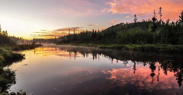 clearwater misty canoe route