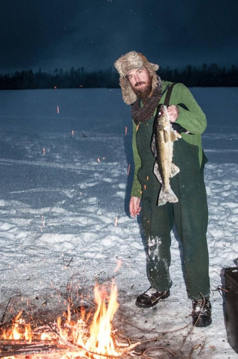 clearwater ice fishing
