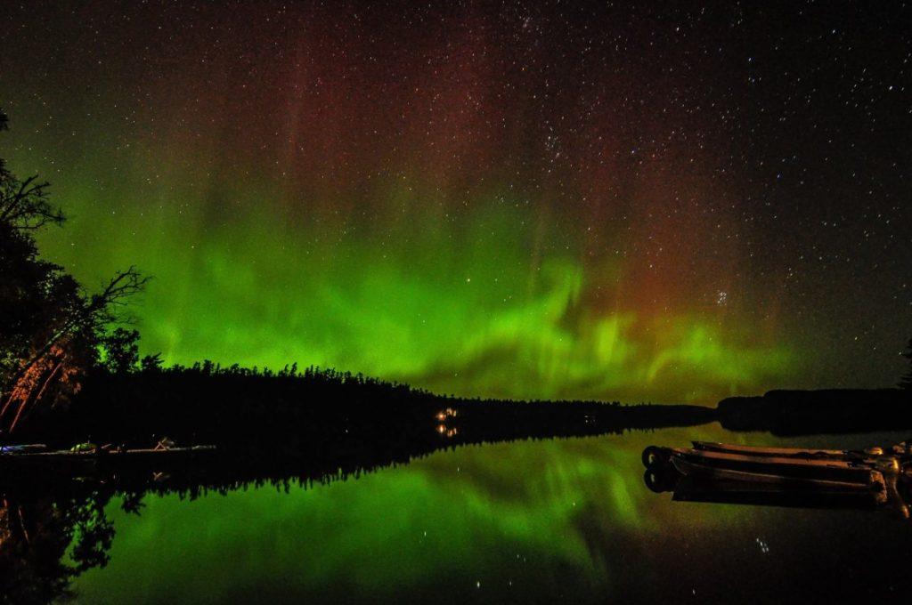 BWCA Campsites, Aurora Borialis