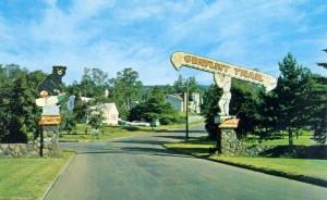 historic gunflint trail entrance