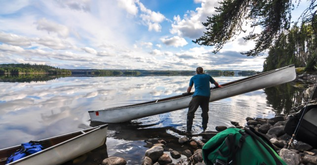 Shoes, boots or sandals?  The best footwear for portaging in the BWCA.