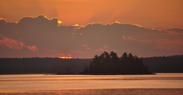Getting a Great Nights Sleep in the Boundary Waters.