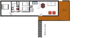 Cabin 10 Floor Plan