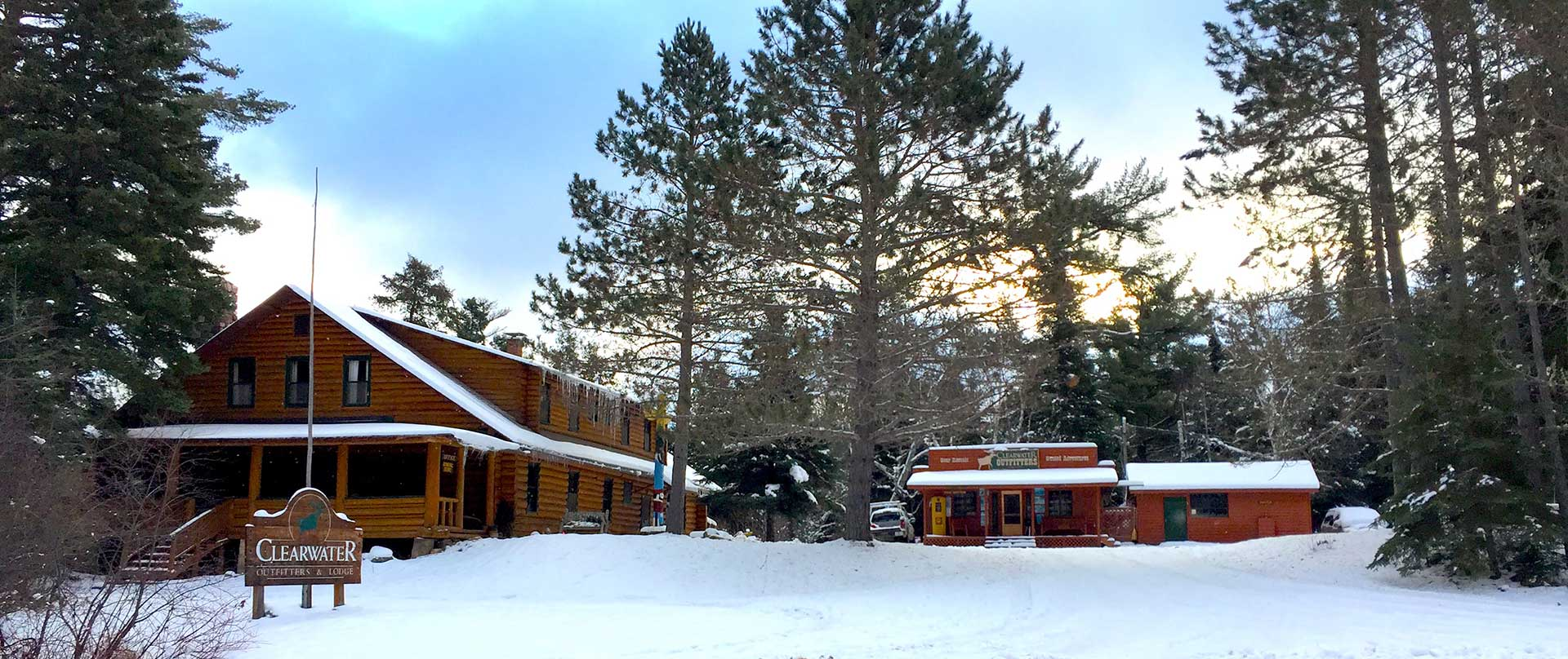 Bwca Winter Cabins Winter Cabins Lodge Clearwater