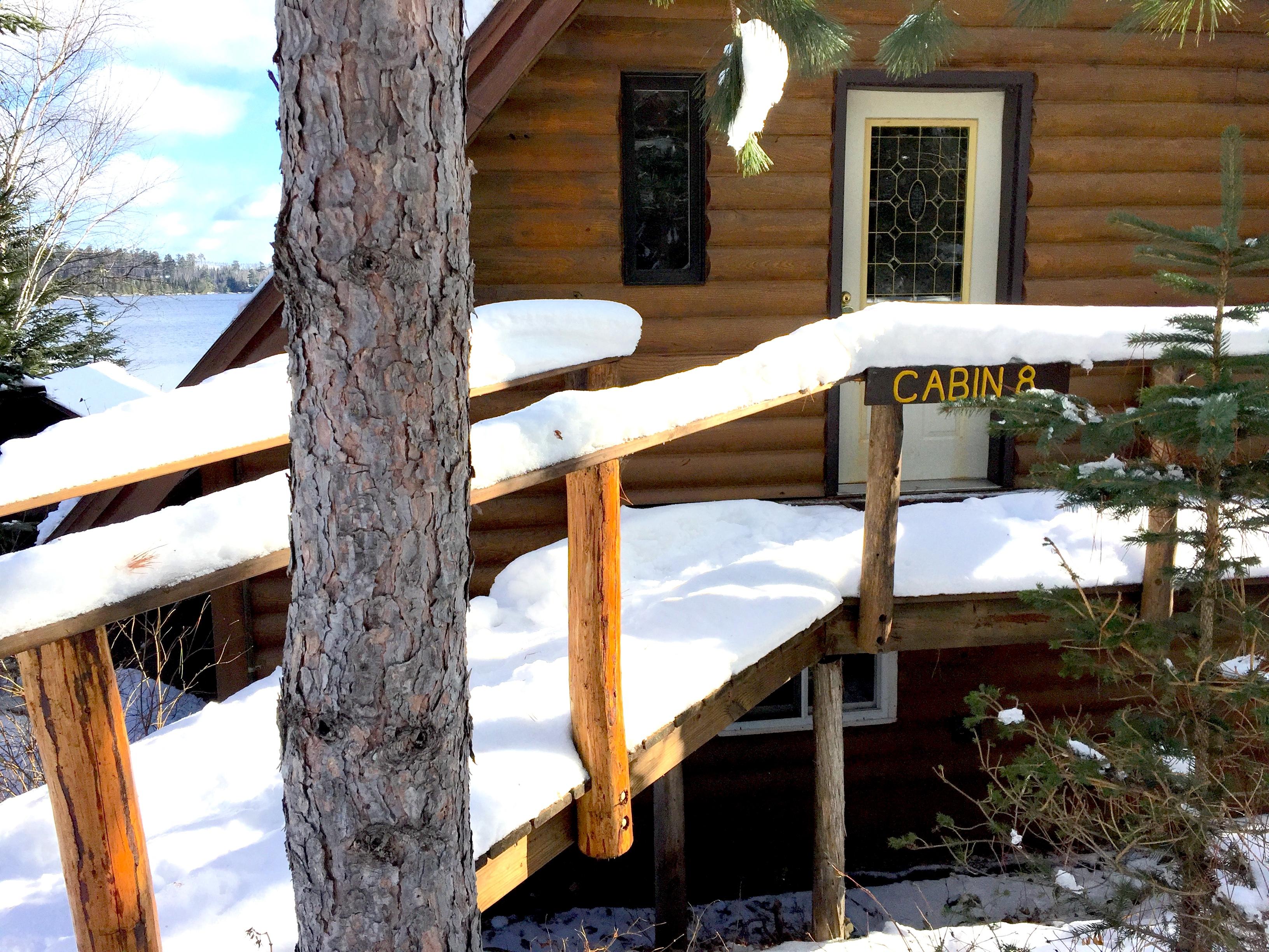 Cabin Eight Winter