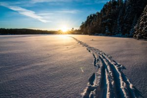 Cross Country Skiing on the Gunflint Trail